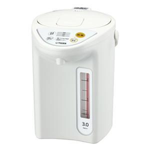 タイガー 魔法瓶 マイコン 電気 ポット 3L ホワイト PDR-G301-W Tiger|totasu888
