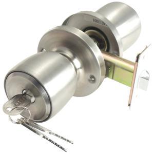 ベスト 鍵付間仕切錠 261-ML バックセット60ミリ 扉厚25~40ミリ 2-481