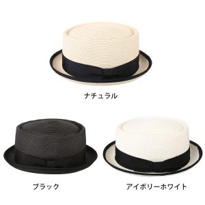 Sedancasesa 春夏 ポークパイ メンズハットメンズ帽子メンズ 麦わら紳士帽子 ストローハットUV ビーチハッ 登山 アウトドア 海|totasu888