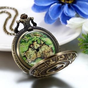 JewelryWe オリジナル 懐中時計 十二星座モチーフ アナログ表示 クオーツ時計 アンティーク ファション 父の日 プレゼント|totasu888