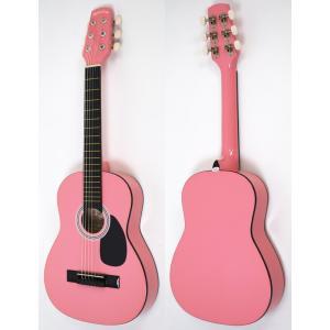 SepiaCrue セピアクルー ミニアコースティックギター W-50/PK ピンク (ソフトケース...