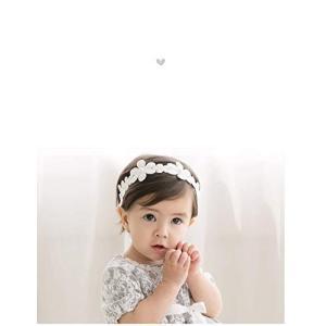 ベビー ヘアバンド レース 花 へあアクセサリー 結婚式 新生児 3点セット 赤ちゃん へあバンド 髪飾り リボン かわいい おしゃれ プレ|totasu888