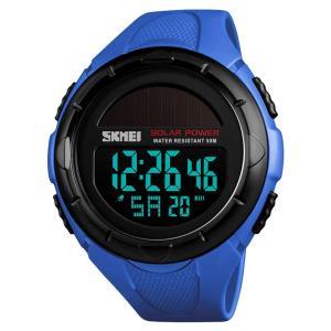 メンズ セイコー ソーラー腕時計 レディース ストップウォッチ付きデジタル多機能 防水 うで時計 ブラック ledディスプレイ 目覚まし時計|totasu888