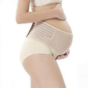 BESTUR 妊婦帯 産前 腹帯 マタニティベルト 産後 骨盤ベルト 妊娠帯 冷房対策 腰痛緩和 通気性良 簡単装着 産前産後もこれ一本兼用|totasu888