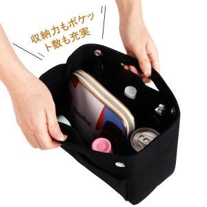 バッグインバッグ LIVEBOX Bag in Bagバッグインバッグフェルト レディース メンズ ...