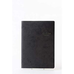 CITTA手帳2020年 10月始まりブラック