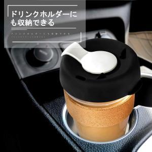 Octerr コーヒーカップ コンビニマグ 携帯カップ グラス ガラスカップ タンブラー 耐熱 持ち...