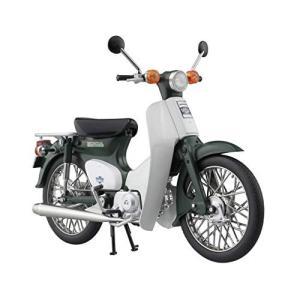 スカイネット 1/12 完成品バイク ホンダ スーパーカブ 50 グリーン|totasu888