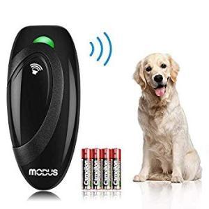 無駄吠え防止グッズ むだぼえ防止 犬のしつけ 超音波 トレーニング 犬の訓練用 Modus ペット 犬用 携帯 電池式 防水 バークコントロ