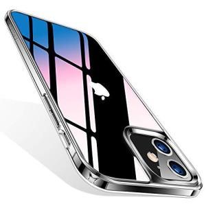 TORRAS iPhone 12 ケース iPhone 12 Pro ケース 6.1インチ用 9Hガラス背面+TPUバンパー 高透明 日本旭|totasu888