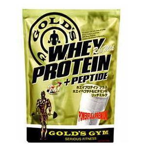 ゴールドジム ホエイプロテイン リッチミルク 900g