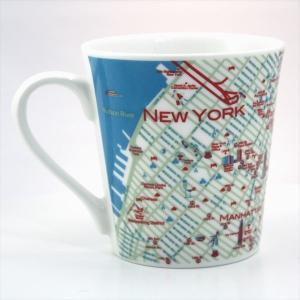 窓付BOX T型mapmug マップマグ NYニューヨーク|totemap