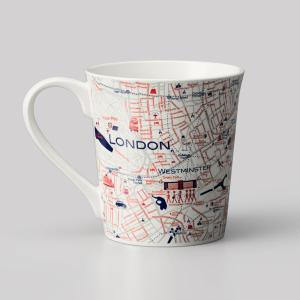 窓付BOX T型mapmug マップマグ Londonロンドン|totemap