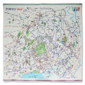 1964年東京(昭和39年)インテリア風呂敷|totemap