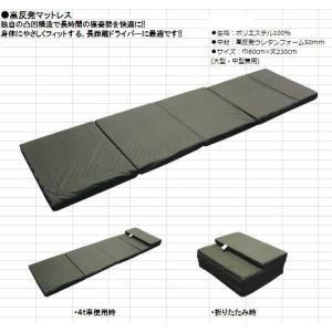 【高反発マットレス】中型/大型車兼用 totocar