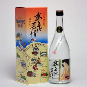 夢千代の原酒です。 お好みでロックやお湯割り、水割りでどうぞ。  【メーカー】大谷酒造株式会社/鳥取...