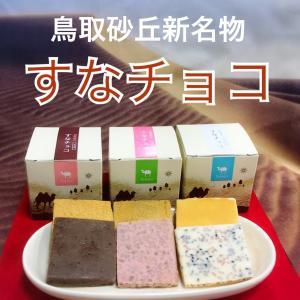 鳥取砂丘すなチョコ6個セット(ミルク・いちご・ホワイト)|tottorishi-bussankan