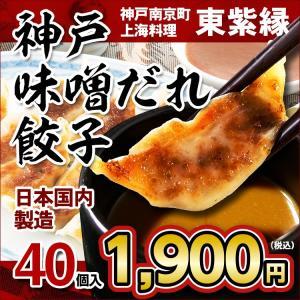 餃子 ギョーザ ぎょうざ 40個 お取り寄せ 名物 グルメ 神戸 南京町|tou-free11