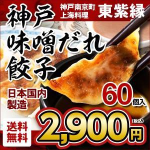 餃子 ギョーザ ぎょうざ 60個 お取り寄せ 名物 グルメ 神戸 南京町|tou-free11