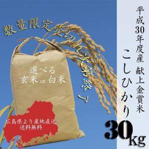 家計応援米 お得米 自然栽培米 無農薬 平成30年度産 米 送料無 30kg 一袋 丸ごと 農家直送...