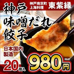 餃子 ギョーザ ぎょうざ 20個 お取り寄せ 名物 グルメ 神戸 南京町|tou-free11