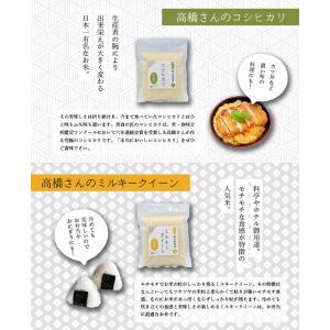 お米 ミルキークイーン・コシヒカリ・極 300g×3袋献上金賞米 3種お試し食べ比べセット|tou-free11|05
