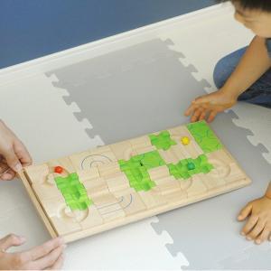 立体パズル 子供 木製 ボイラ マザベル くみかえ迷路 (ボード)|tougenkyou