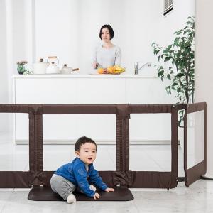 赤ちゃん 柵 とおせんぼ パネル 日本育児 おくだけとおせんぼ スマートワイド|tougenkyou