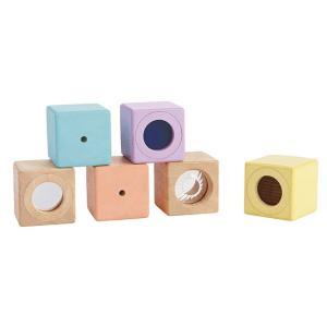 おもちゃ 木製 ブロック 積み木 視覚 PLAN TOYS プラントイ センサリーブロック|tougenkyou