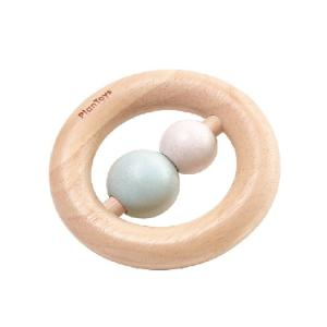 おもちゃ 木製 ラトル がらがら 木のおもちゃ PLAN TOYS プラントイ リングラトル|tougenkyou