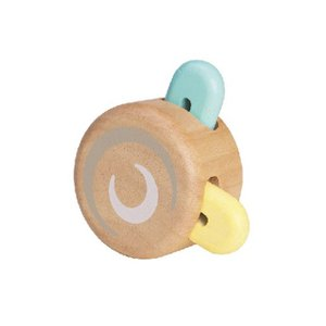おもちゃ 木製 木のおもちゃ プッシュトイ 手あそび PLAN TOYS プラントイ ピーカブーローラー パステル|tougenkyou