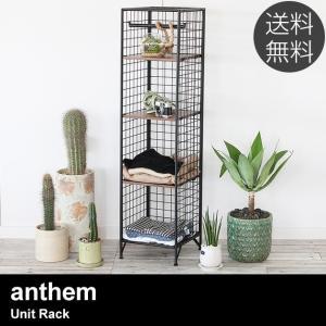 ユニットシェルフ 棚 収納 ラック anthem アンセム ユニットラック Unit Rack 【ノベルティ対象外】|tougenkyou