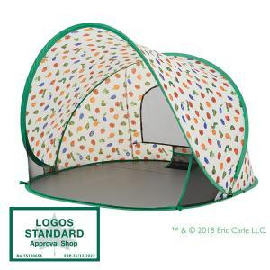 ワンタッチテント ポップアップテント はらぺこあおむし ビーチテント LOGOS ロゴス はらぺこあおむし ポップアップシェード|tougenkyou