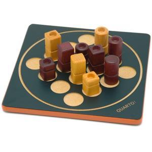 世界中で数々のボードゲーム賞を受賞したクアルト!のミニサイズ[材質]:木  [プレイ人数]:2人  ...