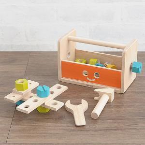おもちゃ ロボット 工具 ツールボックス PLAN TOYS(プラントイ) ロボットツールボックス 【ラッピング対応】|tougenkyou