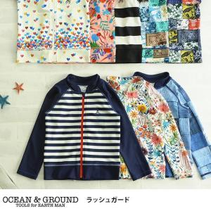 ラッシュガード こども ベビー キッズ OCEAN&GROU...