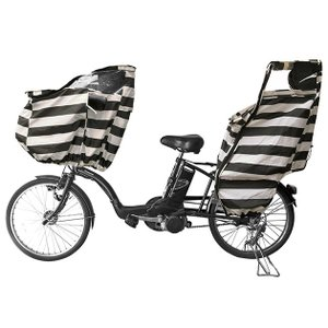 自転車 チャイルドシート レインカバー 子供乗せ自転車 FABHUG ファブハグ 自転車カバー 【ラッピング対応】|tougenkyou