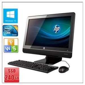 中古パソコン Windows 10 21.5型ワイド一体型 メモリ8G SSD240GB HP Co...