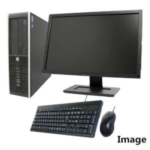 中古パソコン Windows 10 19型ワイド液晶セット Officeソフト付 HP Compaq 8100 Elite SF 爆速Core i5 3.2GHz メモリ大容量4G HD160GB DVD 無線付き