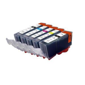 CANON BCI-321/320互換インクカートリッジ 5色セット【キャノン】【汎用品】【メール便対応】 【新品】|touhou-shop