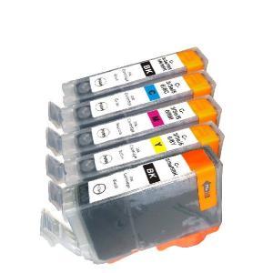 CANON BCI-3e 互換インクカートリッジ 7色セット【キャノン】【汎用品】【メール便対応】 【新品】|touhou-shop
