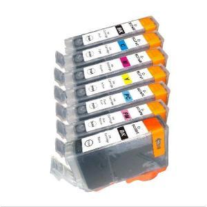 CANON BCI-7e,9BK互換インクカートリッジ 7色セット【キャノン】【汎用品】【メール便対応】 【新品】|touhou-shop
