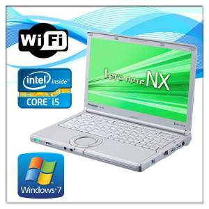 中古ノートパソコン Windows 7 12.1インチ Panasonic  パナソニック Let's note  レッツノート CF-NX2 Core i5 3320M 2.6G メモリ4GB HDD250GB 無線WIFI有|touhou-shop