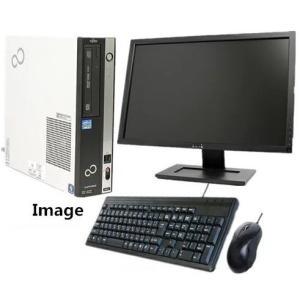 中古パソコン 中古デスクトップパソコン 22型液晶セット Windows 10 富士通 ESPRIMO Dシリーズ Core2Duo E7500 2.93G メモリ4G HD160GB DVDスーパーマルチ touhou-shop