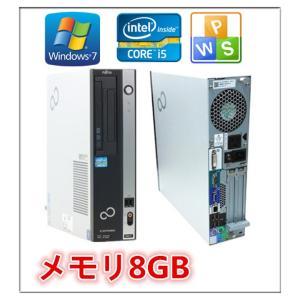 中古パソコン デスクトップパソコン Windows 7 メモリ8GB 日本メーカー富士通 ESPRIMO D750/A 爆速Core i5 650 3.2G メモリ8GB HD160GB DVDドライブ|touhou-shop
