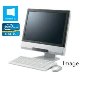 中古パソコン デスクトップ Windows 10 NEC 19インチワイド大画面一体型PC MGシリーズ Core i5 460M 2.53G メモリ4GB HDD160GB DVD-ROM 無線有|touhou-shop