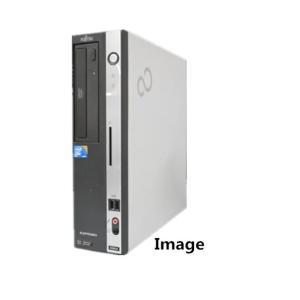 中古パソコン デスクトップパソコン Windows 7/DtoD領域/Office/日本メーカー富士通 D5シリーズ Core2Duo 2.93G/メモリ2G/160GB/DVD(DP1677-402)|touhou-shop