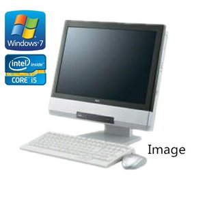 中古パソコン(Windows 7 Pro) (無線付) 富士通 17インチ液晶一体型PC ESPRIMO K550/A Core2Duo P8700 2.53G/2G/160GB/DVD-ROM(DP1671-207)|touhou-shop