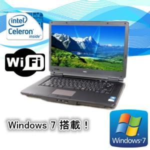 中古ノートパソコン(Windows 7) NEC VersaPro VK19EX-D Celeron B840 1.9G/メモリ2G/HD250GB/DVD-ROM/15型ワイド/無線有/WPS Office付|touhou-shop