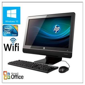 中古パソコン Windows 10 HP製21.5型ワイド液晶一体型PC HP Compaq 600...